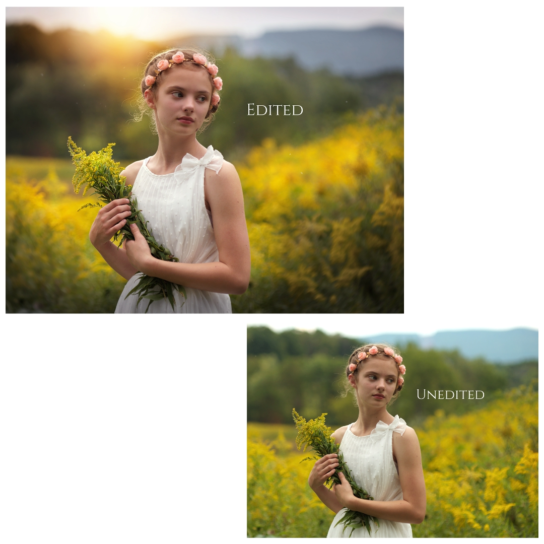 why edit your photos